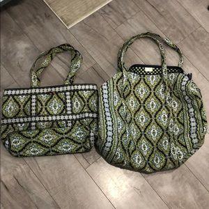 Vera Bradley soft luggage set